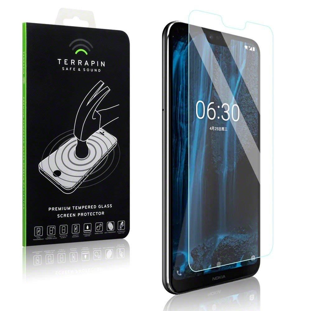 Terrapin Tempered Glass - Αντιχαρακτικό Γυαλί Οθόνης Nokia 6.1 Plus (006-001-168)