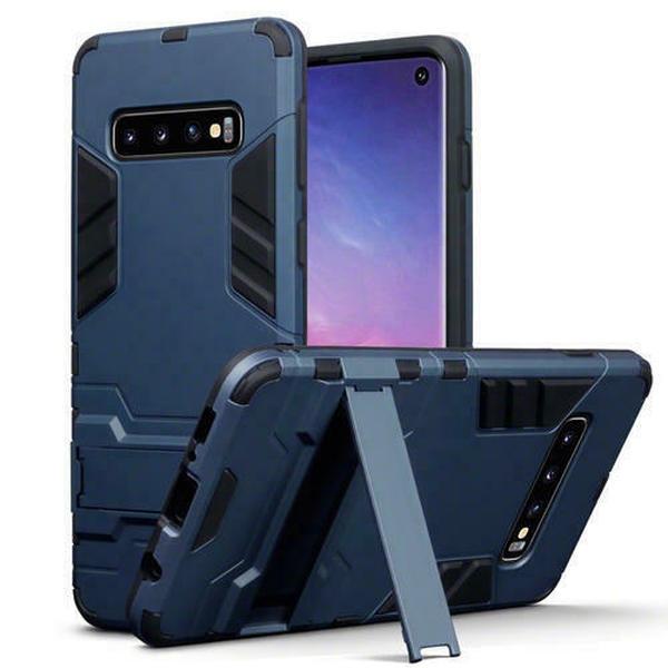 Terrapin Ανθεκτική Dual Layer Θήκη Samsung Galaxy S10 - Blue (131-002-141)
