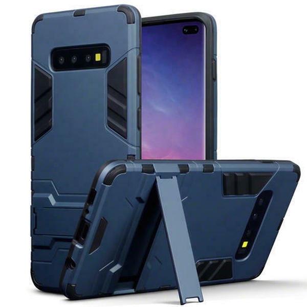 Terrapin Ανθεκτική Dual Layer Θήκη Samsung Galaxy S10 Plus - Blue (131-002-144)