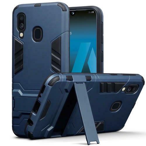 Terrapin Ανθεκτική Dual Layer Θήκη Samsung Galaxy A40 - Blue (131-002-165)