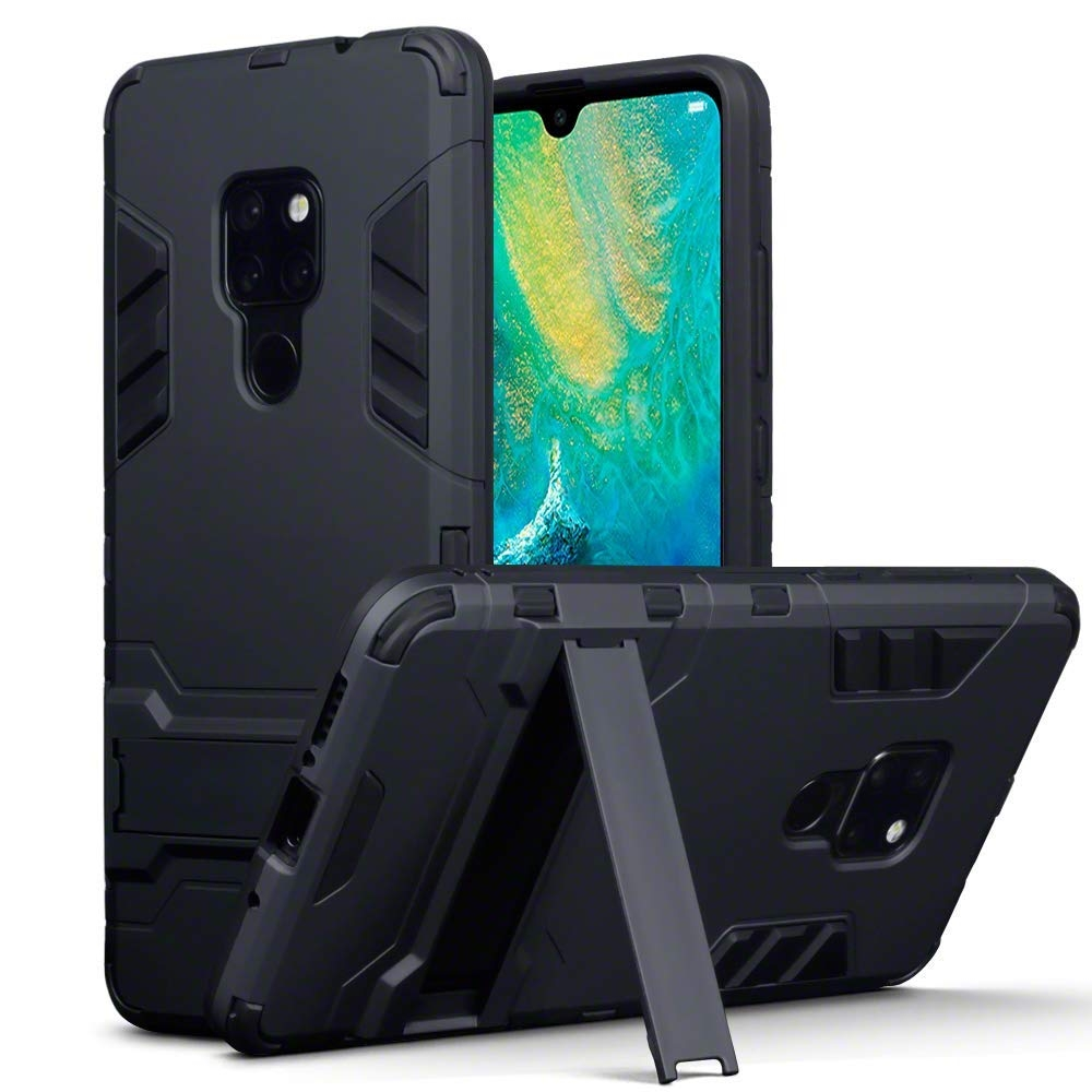 Terrapin Ανθεκτική Dual Layer Θήκη Samsung Galaxy J4 Plus 2018 - Black (131-002-125)