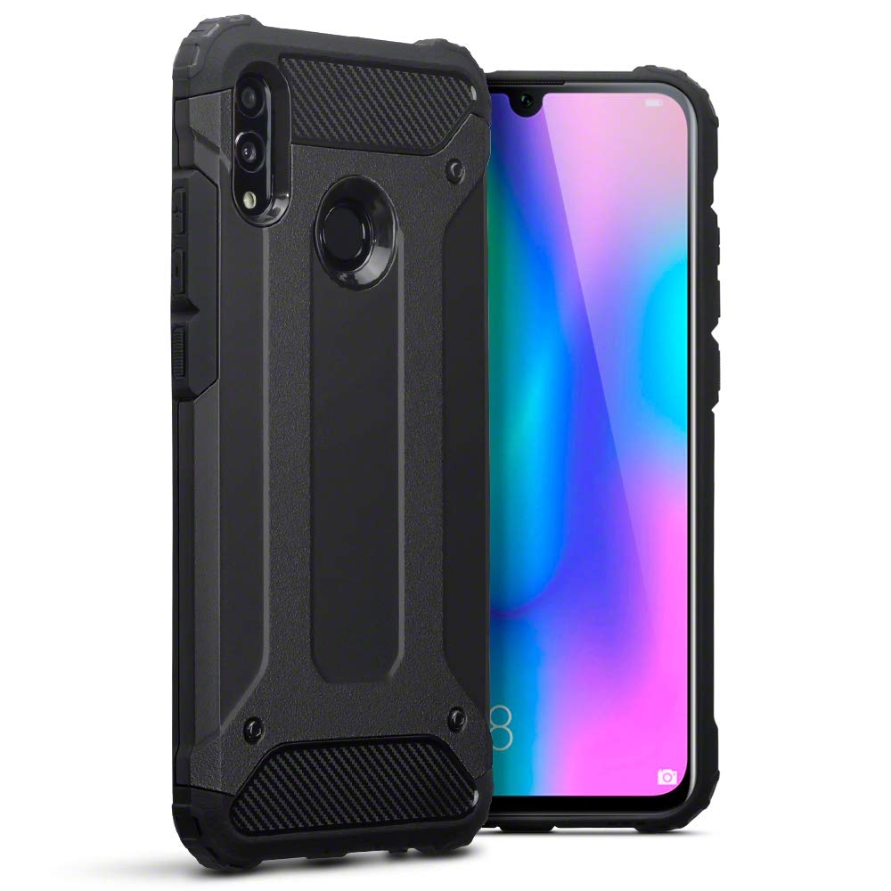 Terrapin Ανθεκτική Θήκη Double Layer Impact Huawei P Smart 2019 - Black (131-083-101)
