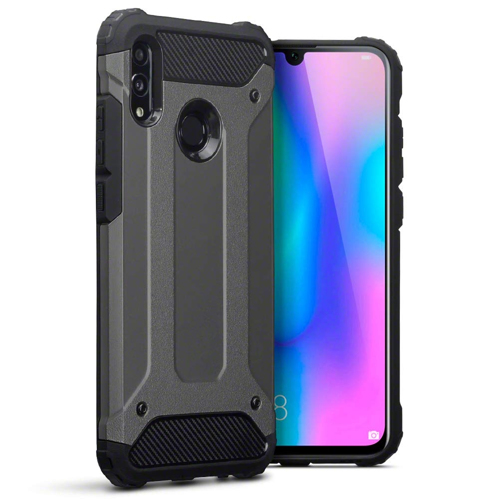 Terrapin Ανθεκτική Θήκη Double Layer Impact Huawei P Smart 2019 - Grey (131-083-102)