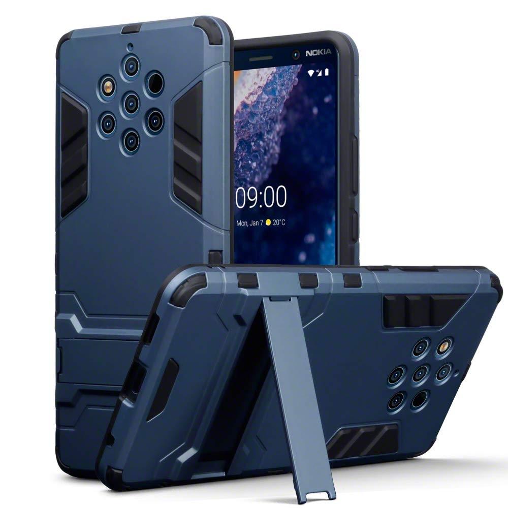 Terrapin Ανθεκτική Dual Layer Θήκη Nokia 9 Purevew - Blue (131-001-049)