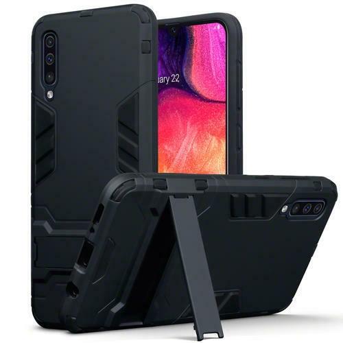 Terrapin Ανθεκτική Dual Layer Θήκη Samsung Galaxy A50 - Black (131-002-158)