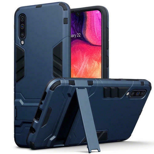 Terrapin Ανθεκτική Dual Layer Θήκη Samsung Galaxy A50 - Blue (131-002-159)