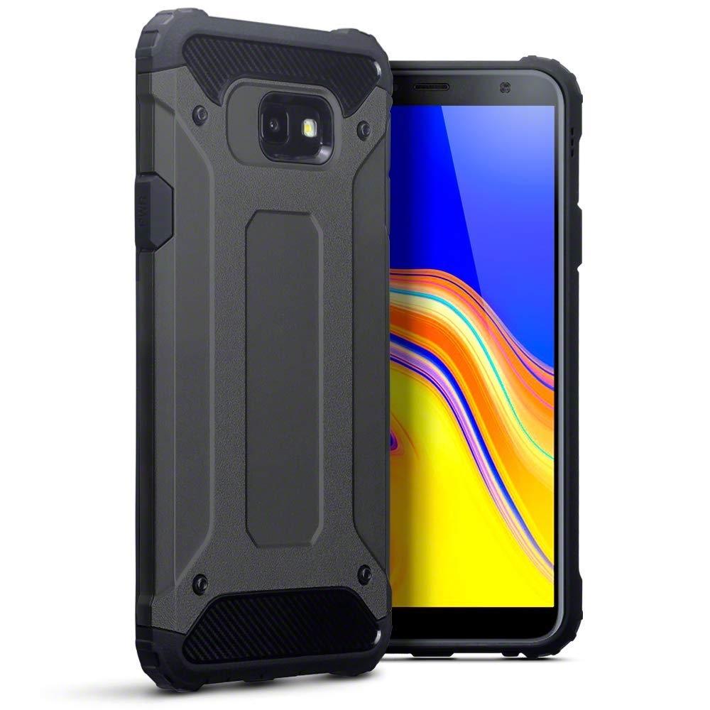 Terrapin Ανθεκτική Θήκη Double Layer Impact Samsung Galaxy J4 Plus 2018 - Grey (131-002-128)