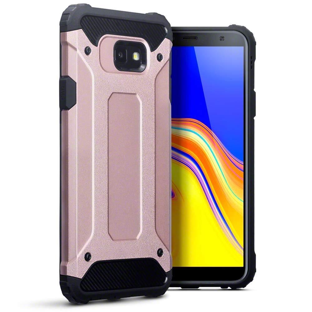 Terrapin Ανθεκτική Θήκη Double Layer Impact Samsung Galaxy J4 Plus 2018 - Rose Gold (131-002-129)