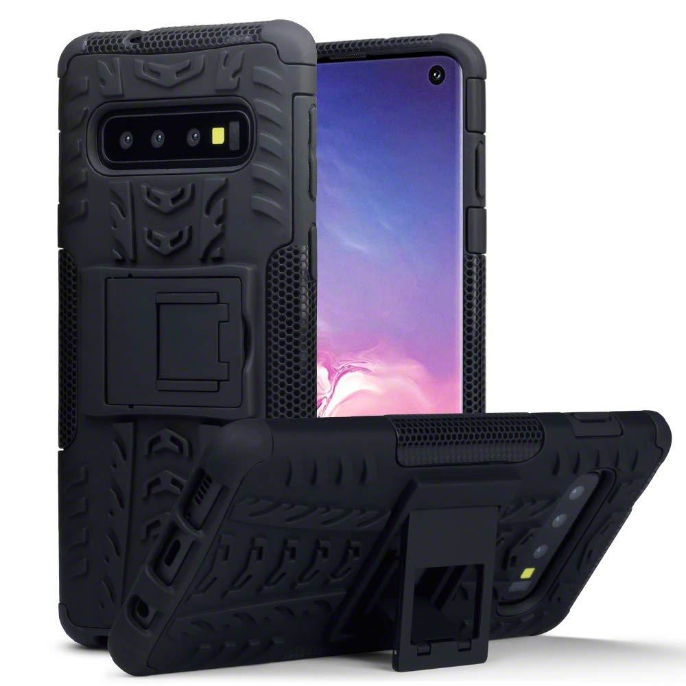 Terrapin Ανθεκτική Θήκη Samsung Galaxy S10 - Black (131-002-139)