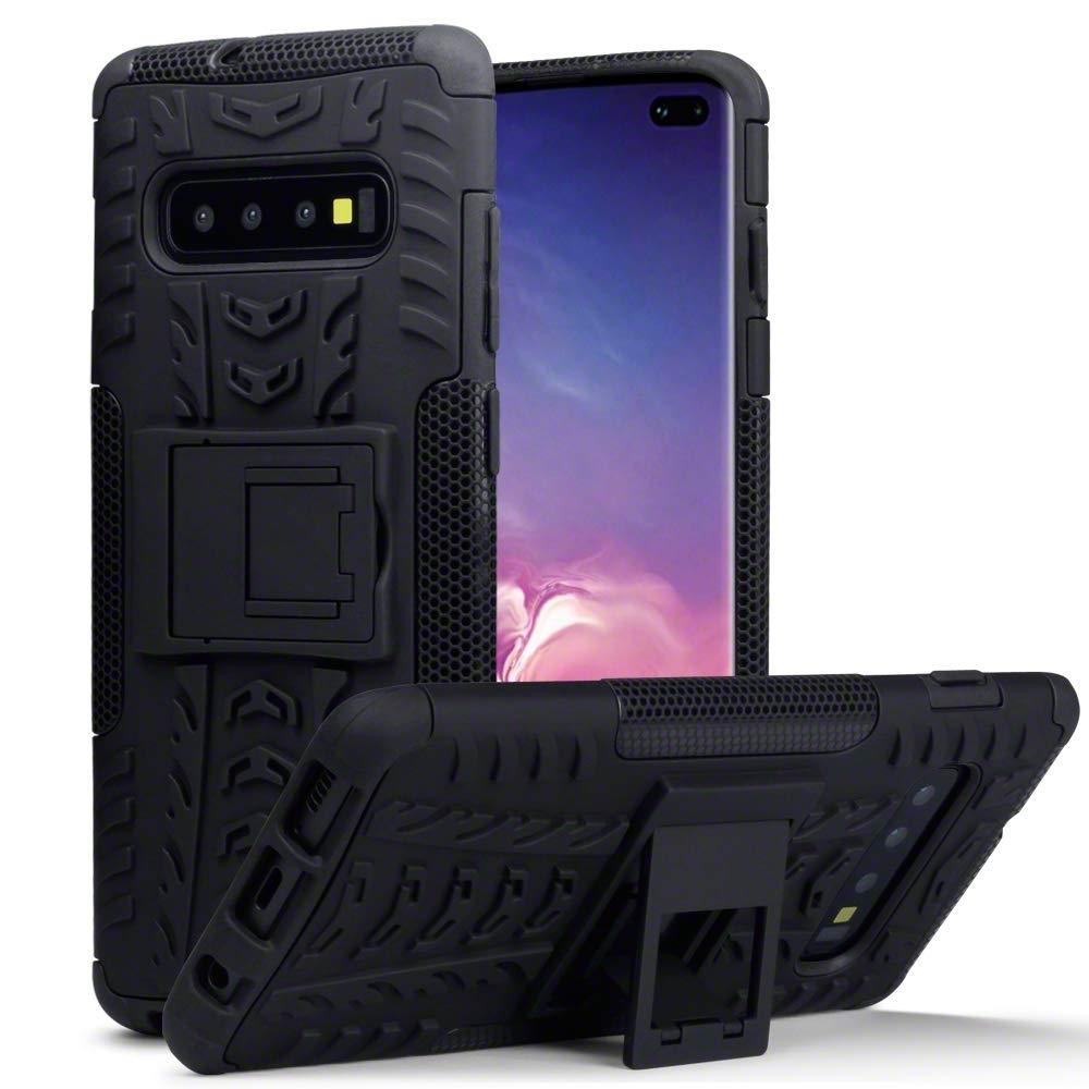 Terrapin Ανθεκτική Θήκη Samsung Galaxy S10 Plus - Black (131-002-142)