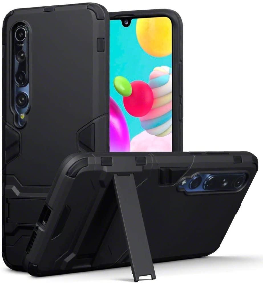 Terrapin Ανθεκτική Θήκη Dual Layer Xiaomi Mi 10 / Mi 10 Pro - Black (131-121-002)