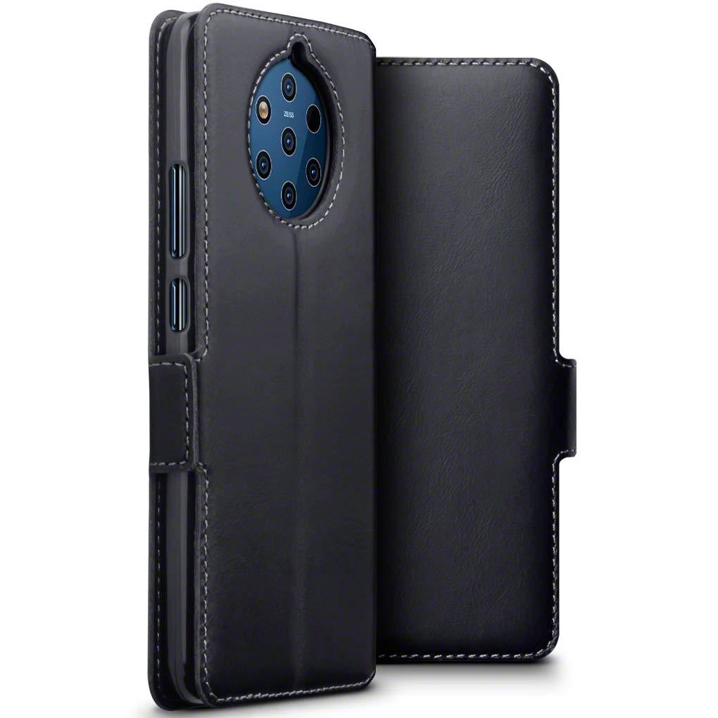 Terrapin Low Profile Δερμάτινη Θήκη - Πορτοφόλι Nokia 9 PureView - Black (117-001-319)