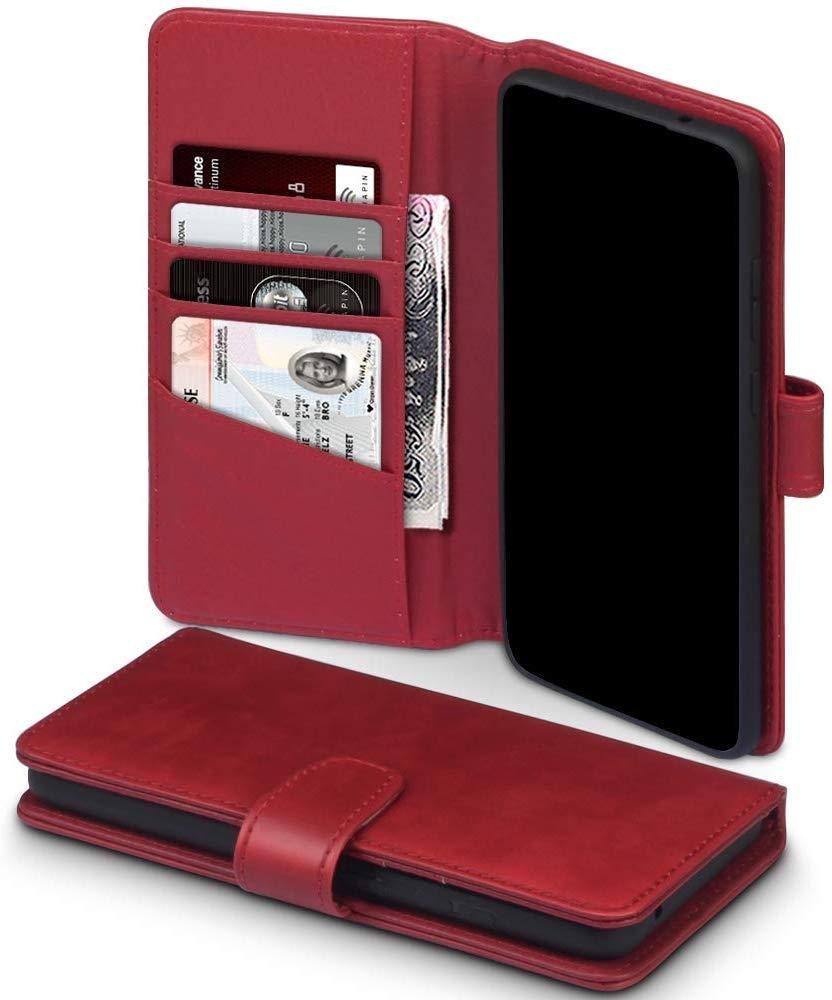 Terrapin Δερμάτινη Θήκη - Πορτοφόλι Samsung Galaxy S20 Ultra - Red (117-002a-249)