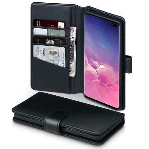 Terrapin Δερμάτινη Θήκη - Πορτοφόλι Samsung Galaxy S10 Plus - Black (117-002a-122)