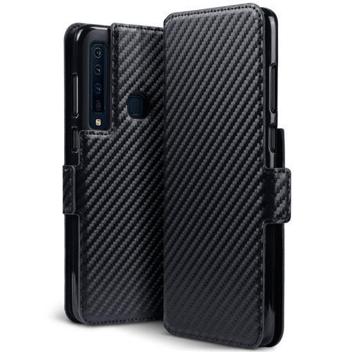 Terrapin Low Profile Θήκη - Πορτοφόλι Carbon Fibre Samsung Galaxy A9 2018 - Black (117-002a-086)
