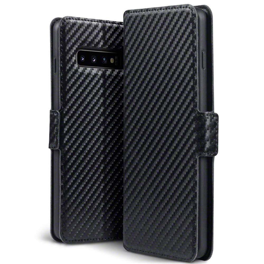 Terrapin Θήκη - Πορτοφόλι Samsung Galaxy S10 - Carbon Fibre Black (117-002a-110)