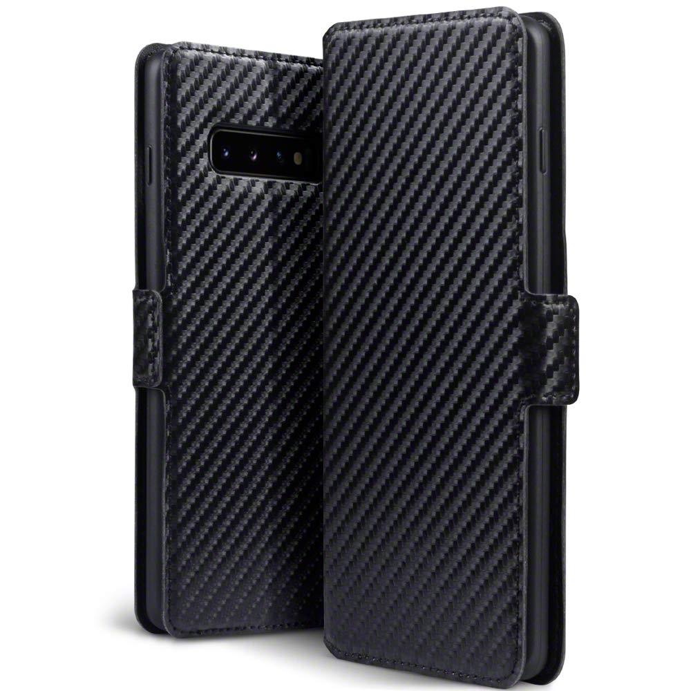 Terrapin Θήκη - Πορτοφόλι Samsung Galaxy S10 Plus - Carbon Fibre Black (117-002a-116)