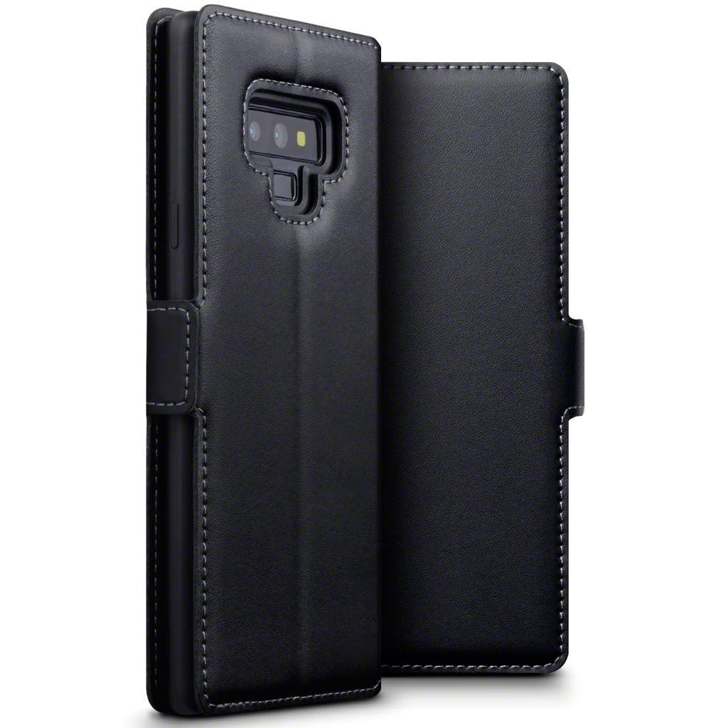 Terrapin Low Profile Δερμάτινη Θήκη - Πορτοφόλι Samsung Galaxy Note 9 - Black (117-002a-077)