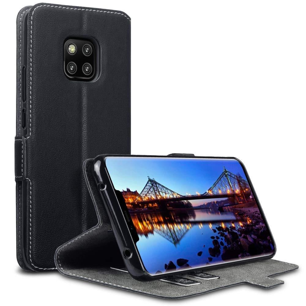 Terrapin Low Profile Θήκη - Πορτοφόλι Huawei Mate 20 Pro - Black (117-083-203)