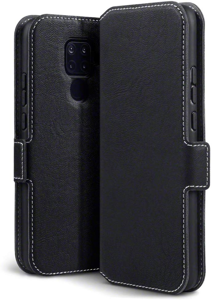 Terrapin Low Profile Θήκη - Πορτοφόλι Huawei Mate 30 Lite - Black (117-083-239)