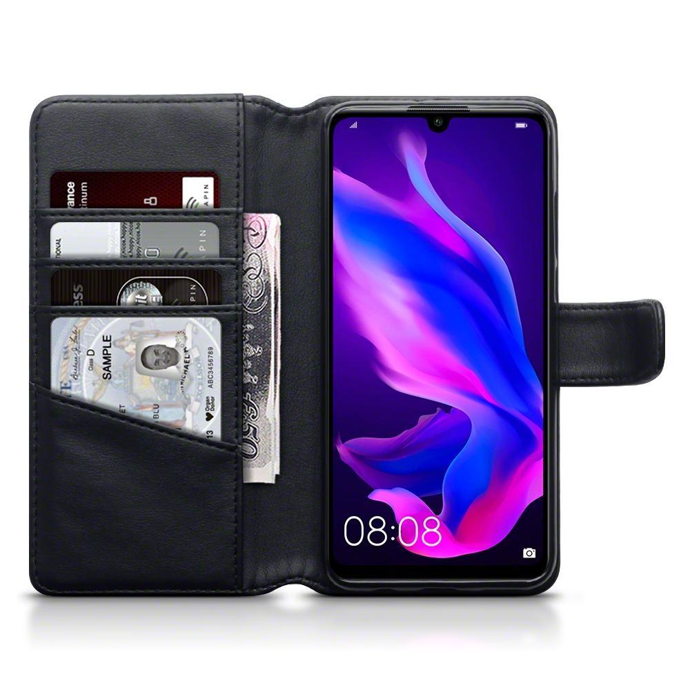 Terrapin Δερμάτινη Θήκη - Πορτοφόλι Huawei P30 Lite - Black (117-083-231)