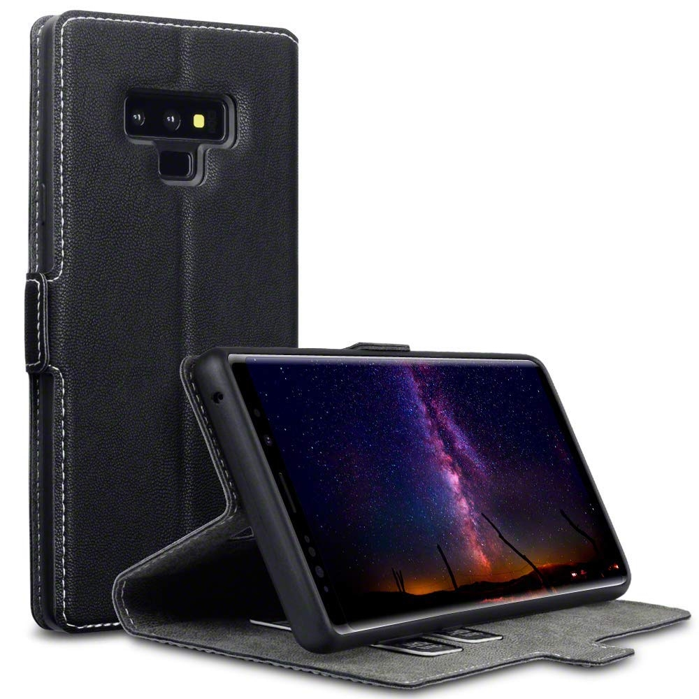 Terrapin Θήκη Low Profile Thin - Πορτοφόλι Samsung Galaxy Note 9 - Black (117-002a-079)