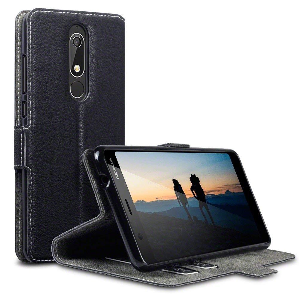 Terrapin Θήκη - Πορτοφόλι Nokia 5.1 - Black (117-001-294)