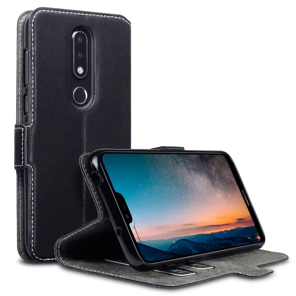 Terrapin Θήκη - Πορτοφόλι Nokia 6.1 Plus - Black (117-001-306)