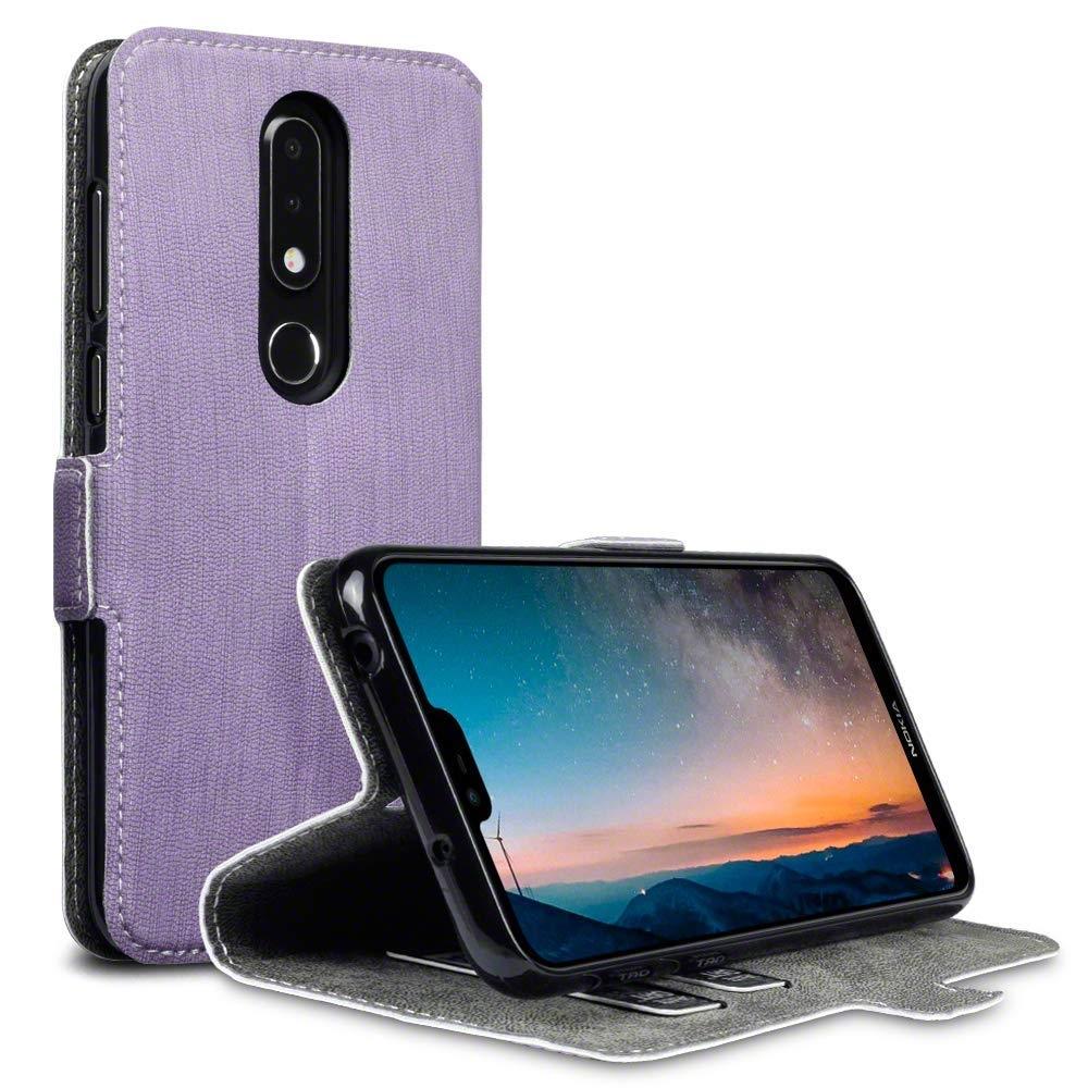 Terrapin Θήκη - Πορτοφόλι Nokia 6.1 Plus - Purple (117-001-307)