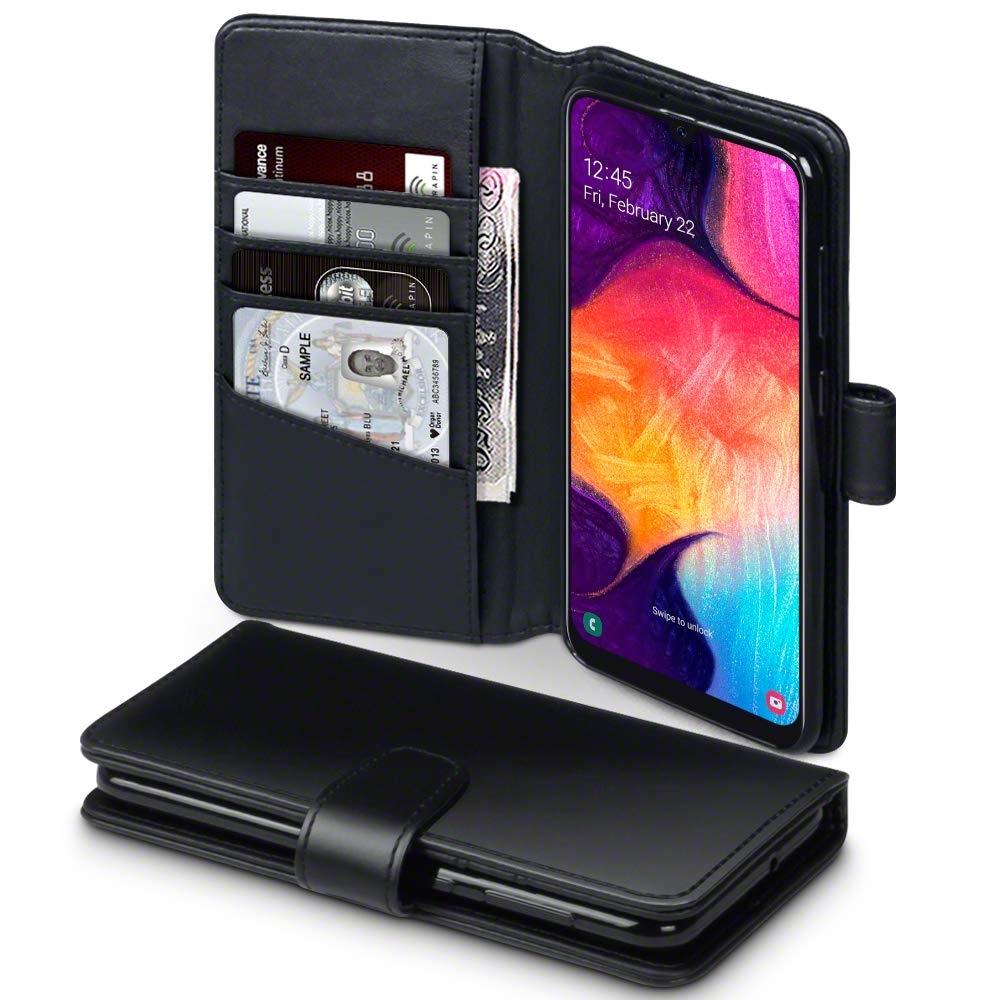 Terrapin Δερμάτινη Θήκη - Πορτοφόλι Samsung Galaxy A50 - Black (117-002a-138)