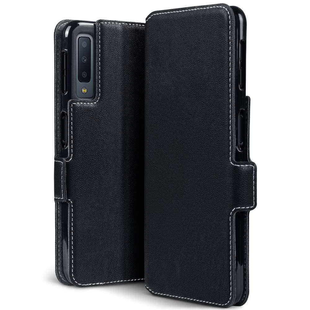 Terrapin Low Profile Θήκη - Πορτοφόλι Samsung Galaxy A7 2018 - Black (117-002a-088)