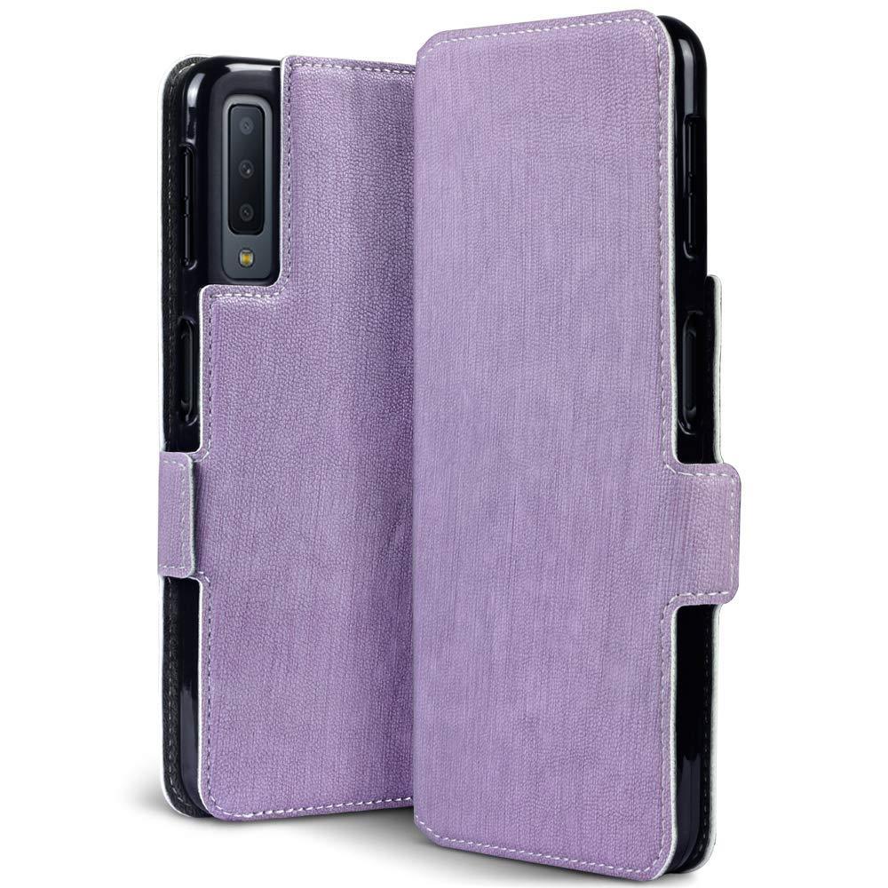 Terrapin Low Profile Θήκη - Πορτοφόλι Samsung Galaxy A7 2018 - Purple (117-002a-089)
