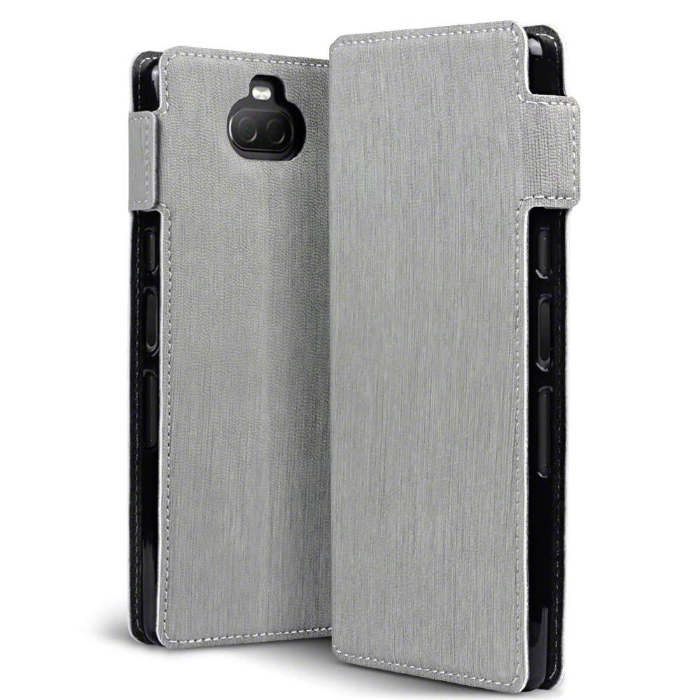 Terrapin Low Profile Θήκη - Πορτοφόλι Sony Xperia 10 - Grey (117-005-648)