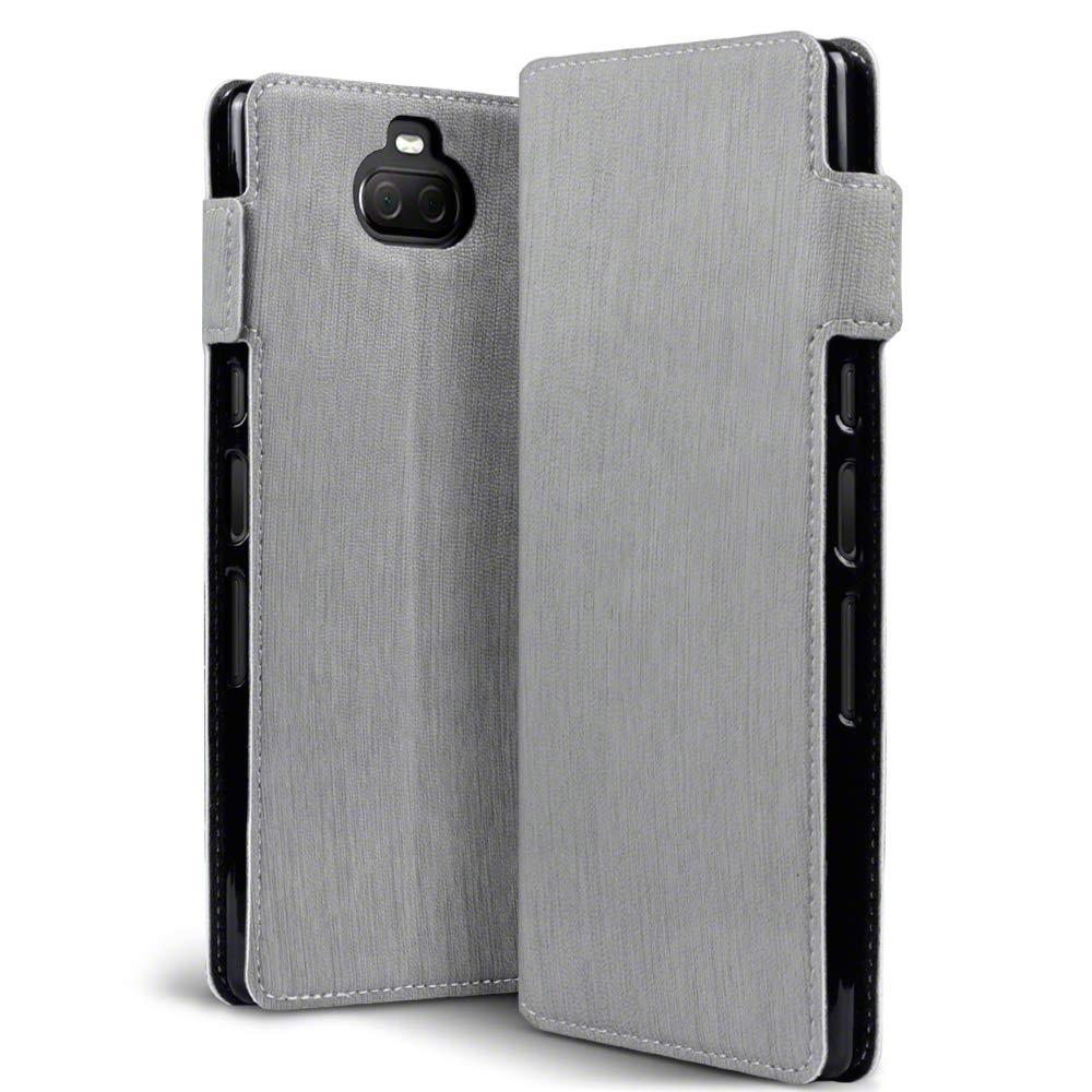 Terrapin Low Profile Θήκη - Πορτοφόλι Sony Xperia 10 Plus - Grey (117-005-654)