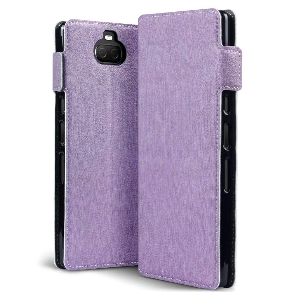 Terrapin Low Profile Θήκη - Πορτοφόλι Sony Xperia 10 Plus - Purple (117-005-652)