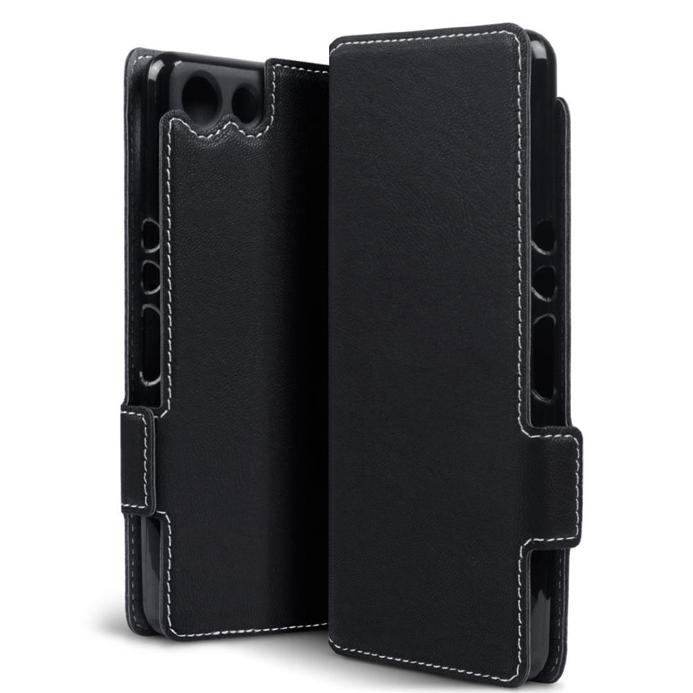 Terrapin Θήκη Πορτοφόλι Sony Xperia XZ4 Compact - Black (117-005-663)