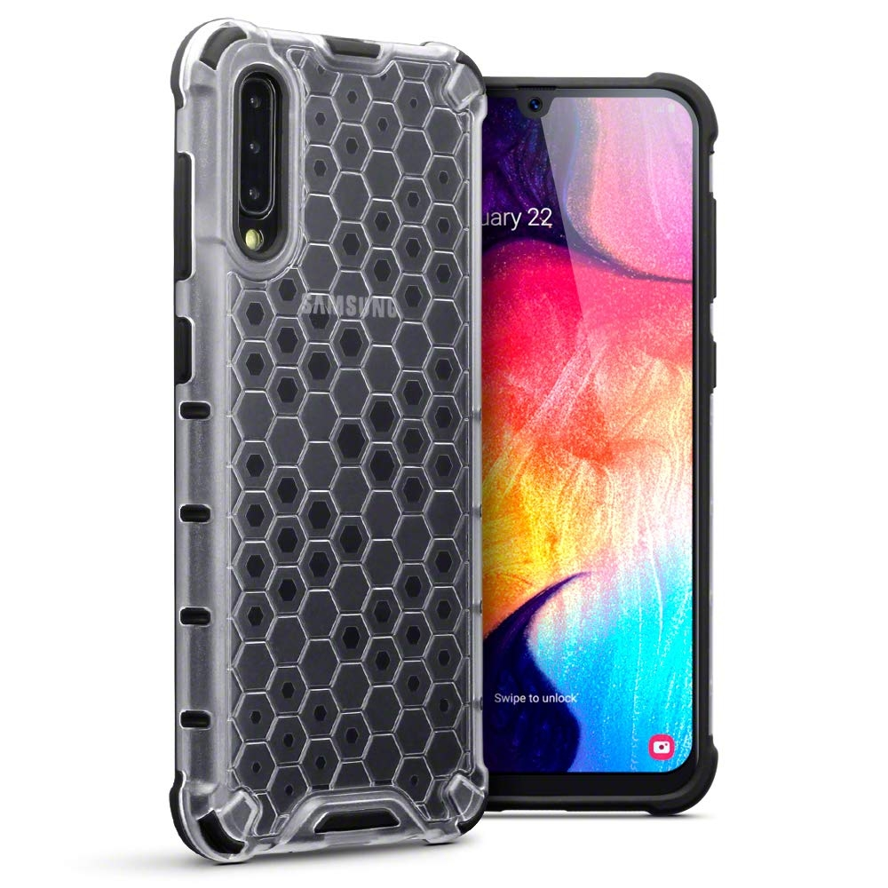 Terrapin Ανθεκτική Θήκη Honeycomb Hard Shell Samsung Galaxy A50 - Clear (130-002-075)