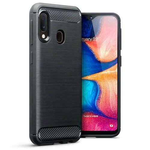 Terrapin Θήκη Σιλικόνης Carbon Fibre Samsung Galaxy A20e - Black (118-002-779)
