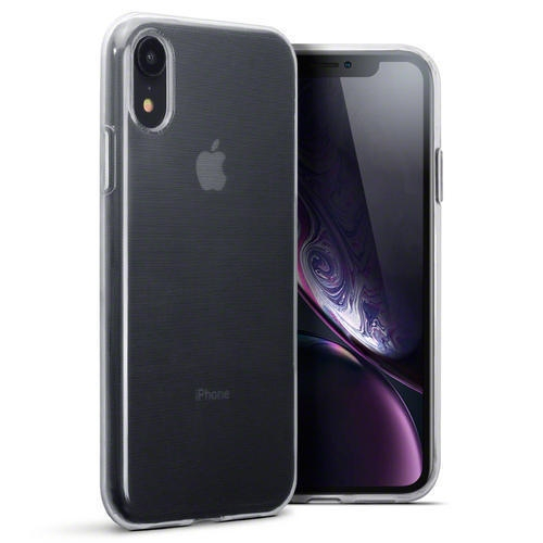 Terrapin Διάφανη Θήκη Σιλικόνης iPhone XR - Clear (118-127-002)