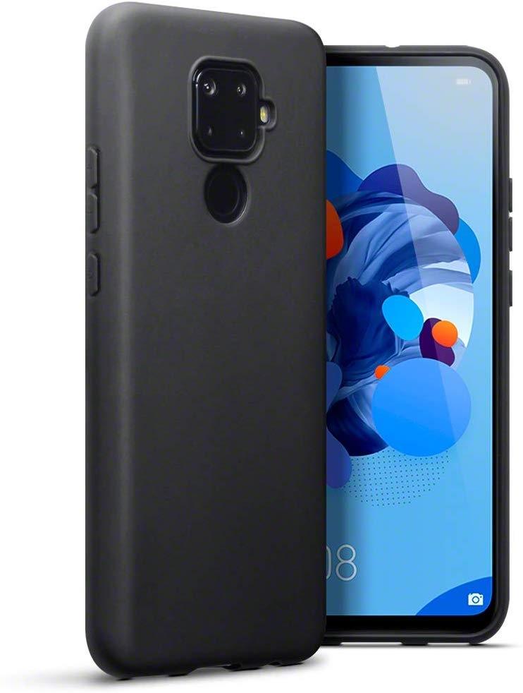 Terrapin Θήκη Σιλικόνης Huawei Mate 30 Lite - Black Matte (118-083-211)
