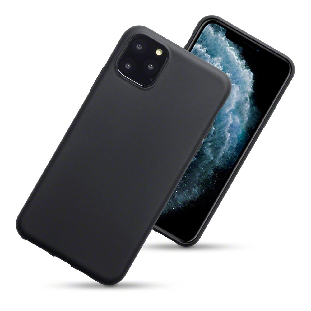 Terrapin Θήκη Σιλικόνης iPhone 11 Pro Max - Black Matte (118-131-002)