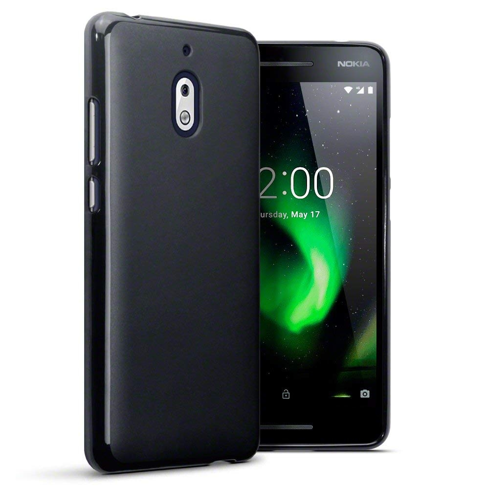 Terrapin Θήκη Σιλικόνης Nokia 2.1 - Black Matte (118-001-273)