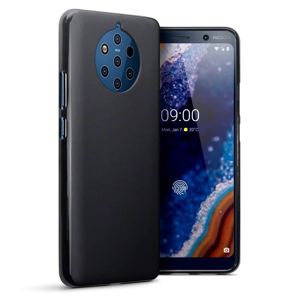 Terrapin Θήκη Σιλικόνης Nokia 9 Pureview - Black Matte (118-001-293)