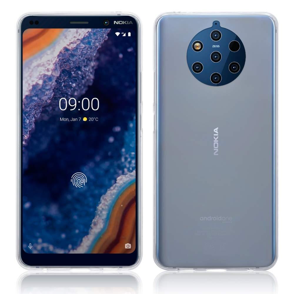 Terrapin Θήκη Σιλικόνης Nokia 9 Pureview - Clear (118-001-292)