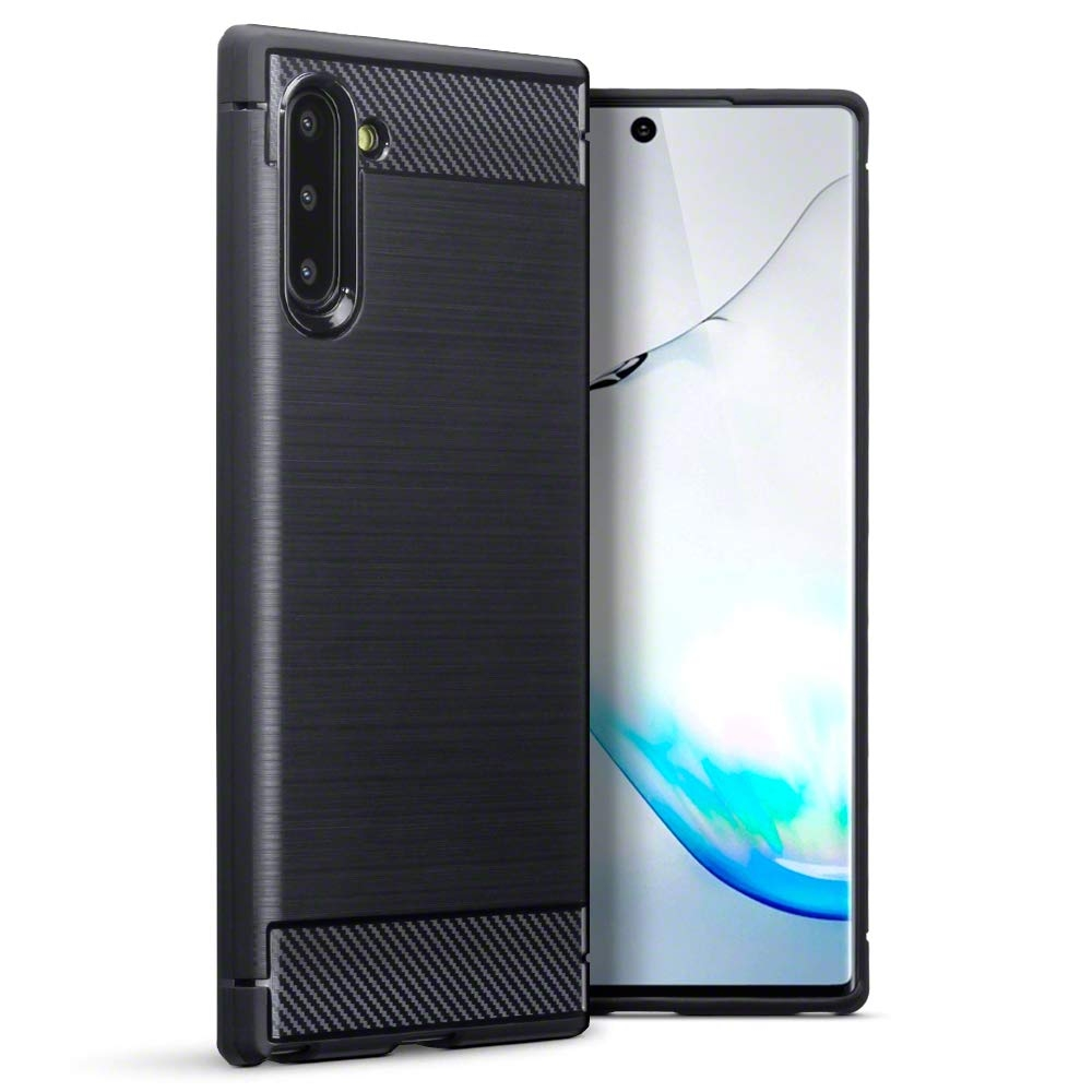 Terrapin Θήκη Σιλικόνης Carbon Fibre Samsung Galaxy Note 10 - Black (118-002-784)