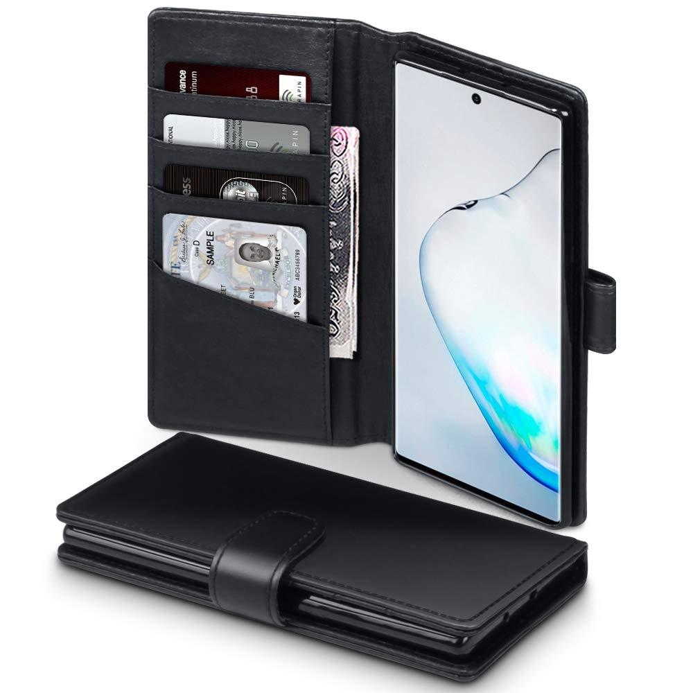 Terrapin Δερμάτινη Θήκη - Πορτοφόλι Samsung Galaxy Note 10 Plus - Black (117-002a-183)