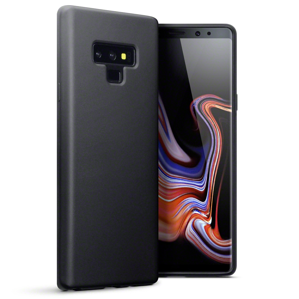 Terrapin Θήκη Σιλικόνης Samsung Galaxy Note 9 - Black Matte (118-002-717)