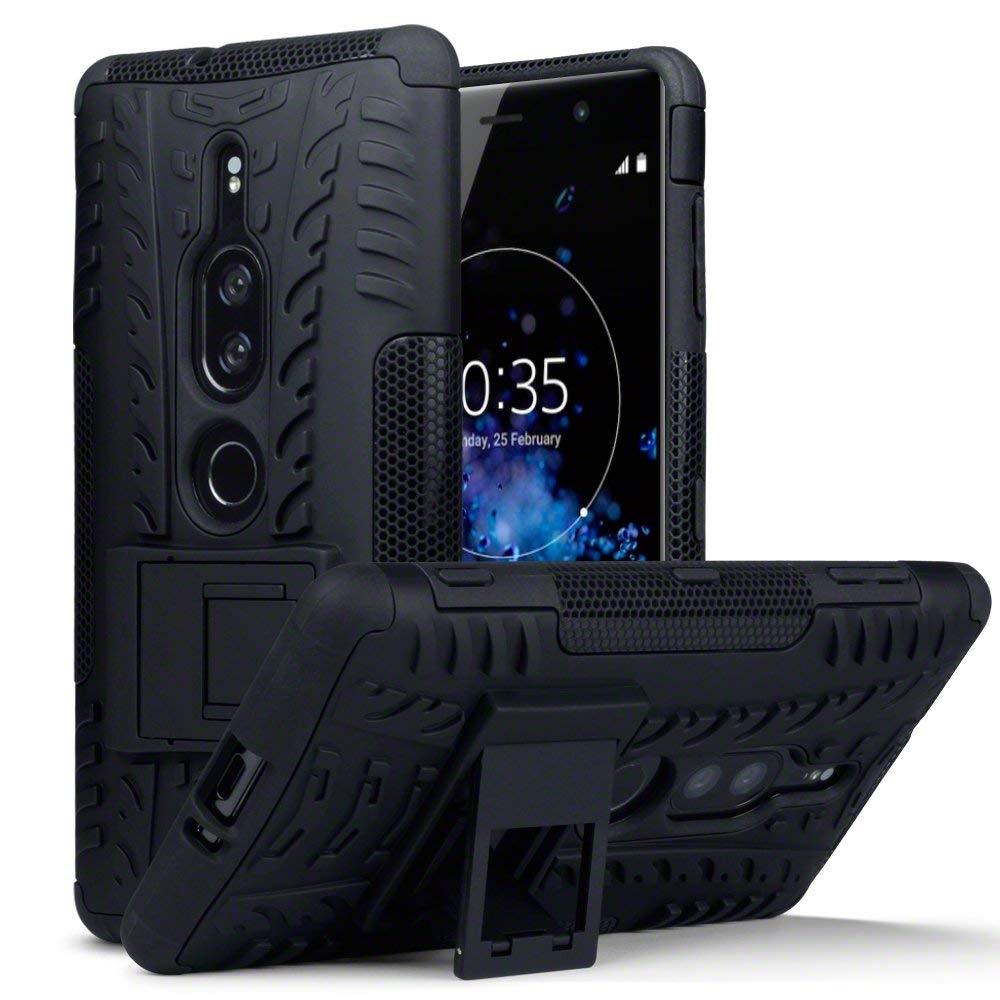 Terrapin Ανθεκτική Θήκη Sony Xperia XZ2 Premium - Black (131-005-069)