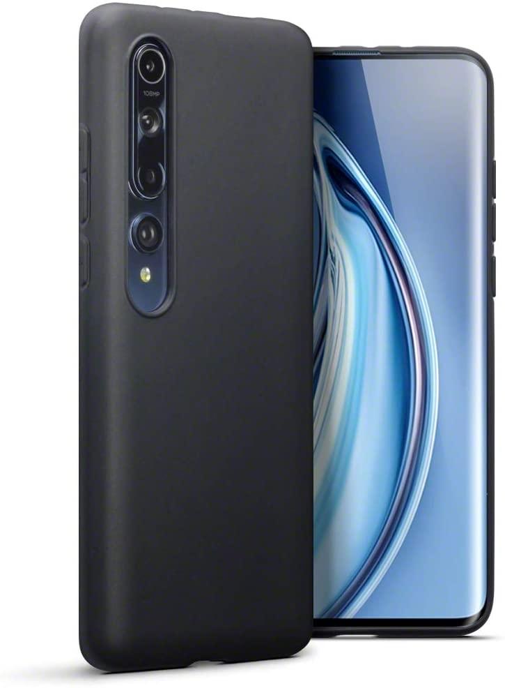 Terrapin Θήκη Σιλικόνης Xiaomi Mi 10 / Mi 10 Pro - Black (118-121-002)