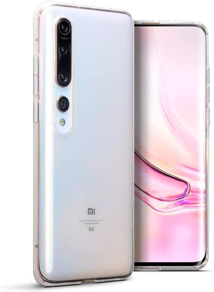 Terrapin Θήκη Σιλικόνης Xiaomi Mi 10 / Mi 10 Pro - Clear (118-121-001)